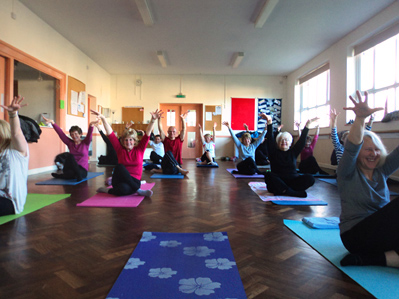 Banners Gate Community Hall Yoga Classes